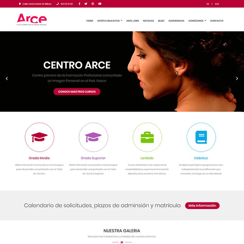 Proyecto Centro Educativo Arce