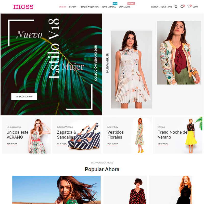 Proyecto Web Moss Bilbao