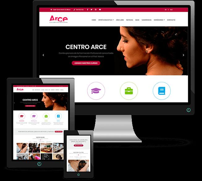 Proyecto Web Centro Arce Responsive
