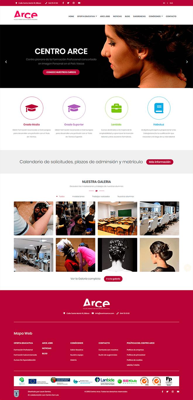 Proyecto Web Centro Arce