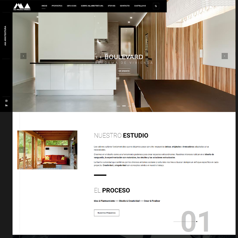 Portafolio Proyecto: AM Arkitektura Alex Mitxelena