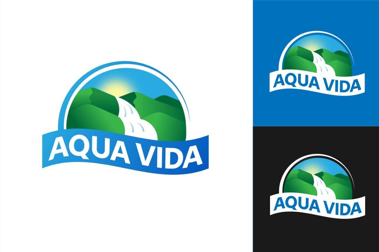 Portafolio: Logotipo Aqua Vida
