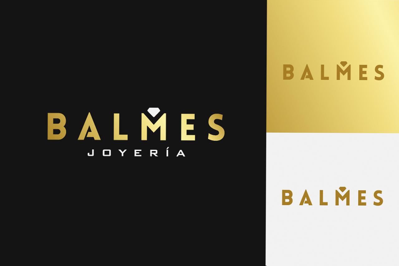 Portafolio: Logotipo Balmes Joyería