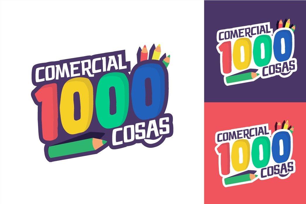 Portafolio: Logotipo Comercial 100 Cosas